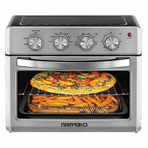air fryer toaster oven 6 slice 25