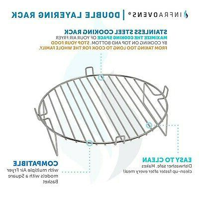 Air Fryer Accessories Compatible With Bay, Zeny, Chefman
