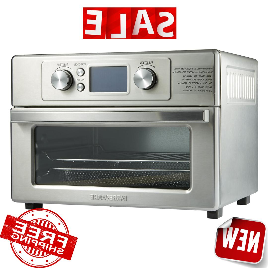 air fryer toaster oven stainless steel brand