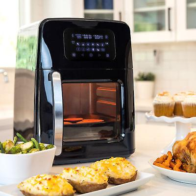 BCP 12.4qt Air Fryer Oven, Rotisserie, w/12 Presets, 7 Accessories