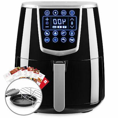 BCP 4.2qt 8-in-1 Digital Non-Stick Kitchen Air Fryer w/ Acce
