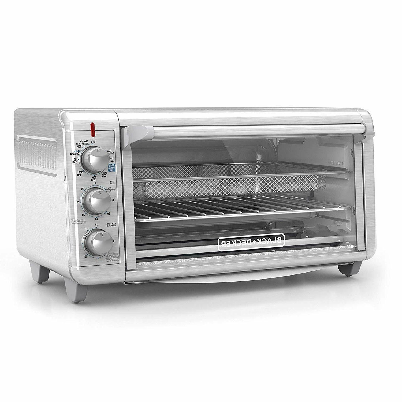 Black & Decker 8 Slice Stainless Steel Oven Fryer