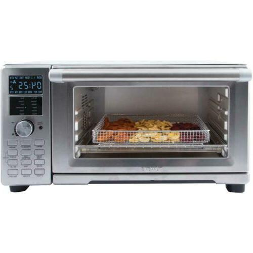 Bravo 4-Slice Stainless Toaster Oven And Air Fryer 1