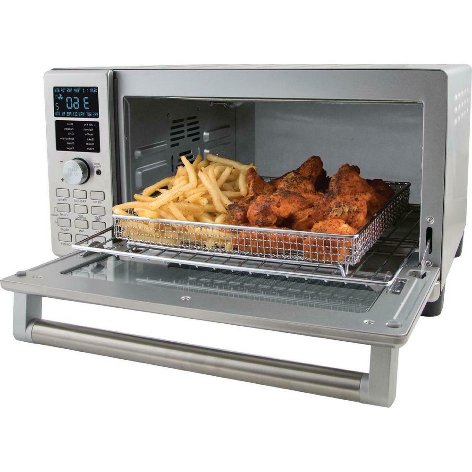 Bravo 4Slice Stainless Steel Oven Fryer Controls