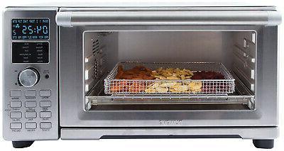 NuWave Bravo Fryer Toaster Oven As Seen TV