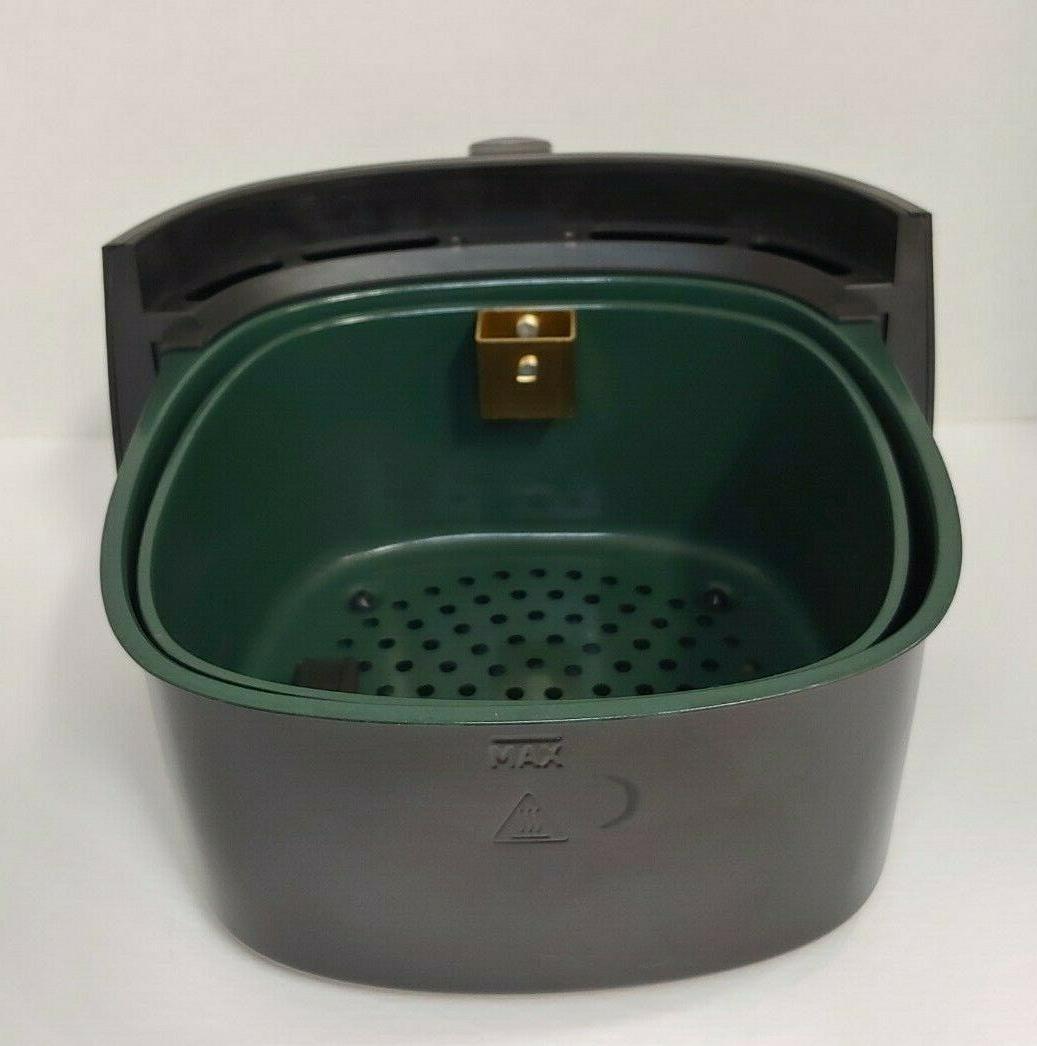 Ceramic Coated Pot Basket detachable handle for Louise Fryer