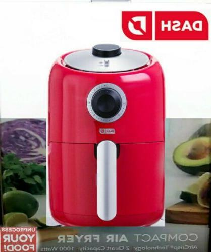 Dash Compact Air Fryer in 1000 W. Guide w/