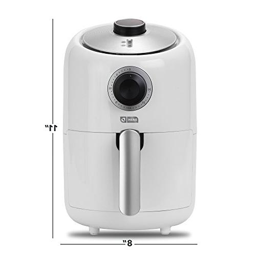 Dash 1.2 Fryer Fry + Feature White