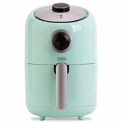 Dash Compact 1.2 Electric Air Fryer Oven with Temperature Fry Basket, + Shut off Feature - Aqua
