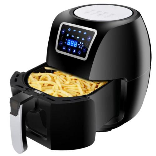 deep fryer electric digital air fryer temperature