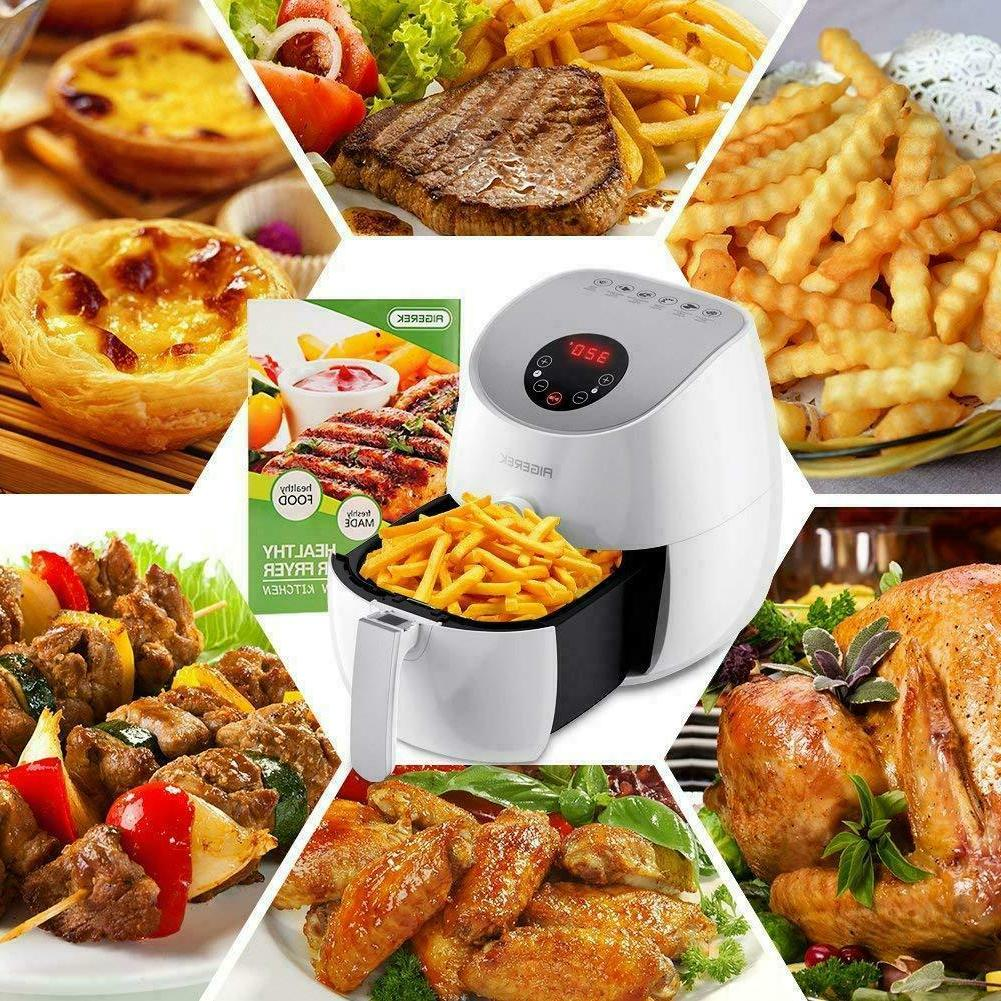Deep Fryer Electric Digital Air Fryer With Control Touch Scr