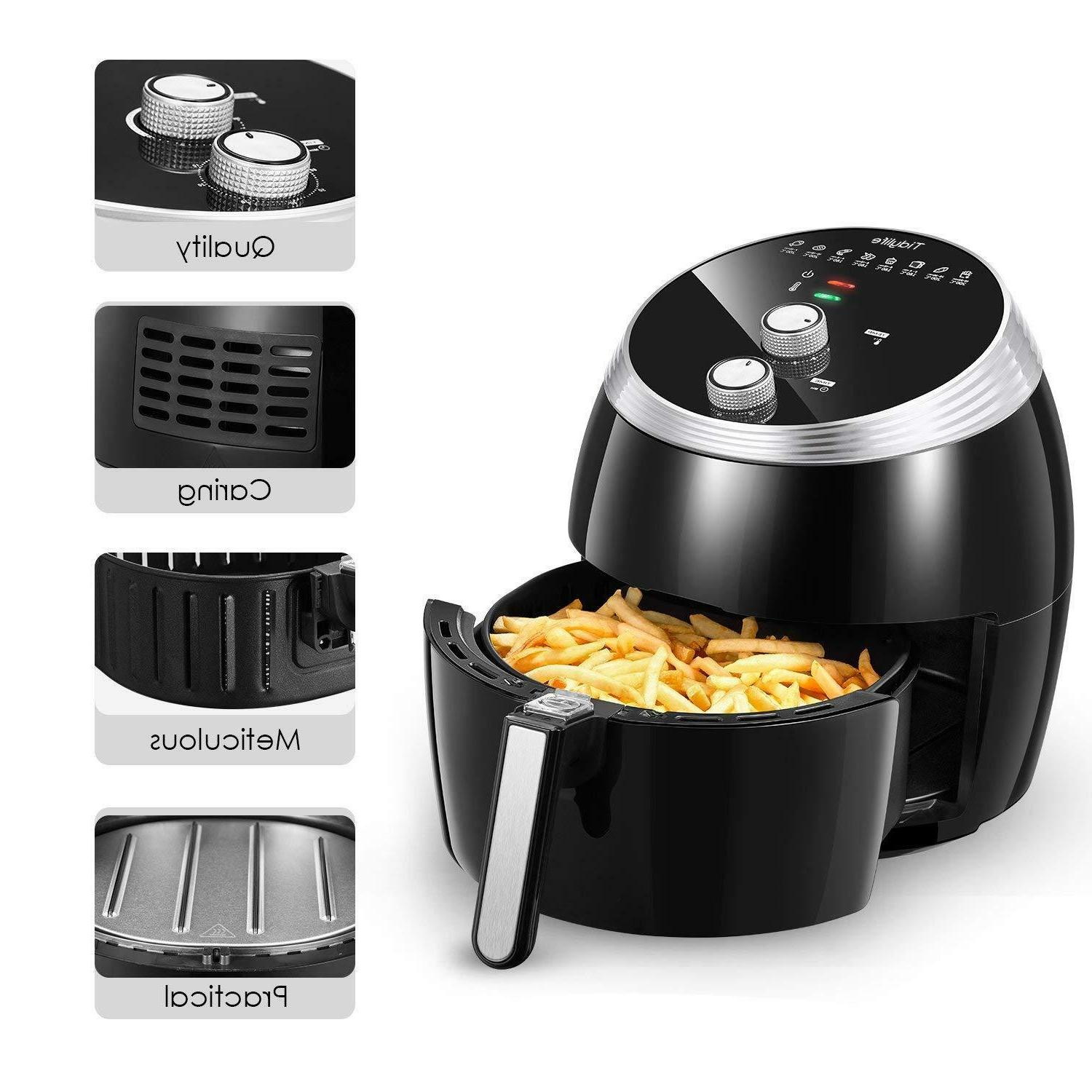 Tidylife Deep Fryers Without Oil - Air Great Capacity 186oz