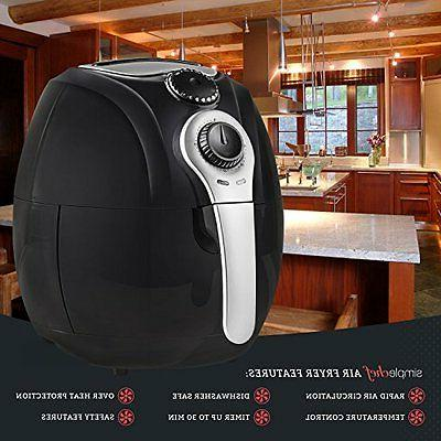 Deep Fryers Simple Air Fryer - Air Fryer Healthy Free Cooking 3.5