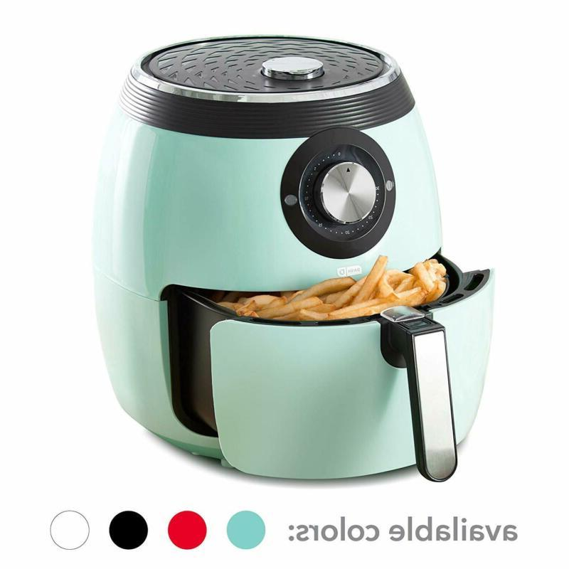 Dash DFAF455GBAQ01 Deluxe Electric Air Fryer + Oven Cooker w