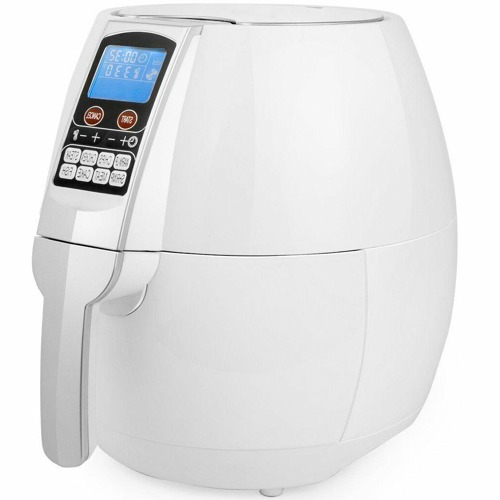 Digital Fryer Cooker, 1,500 W, Quart