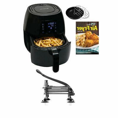 digital air fryer w weston fry cutter
