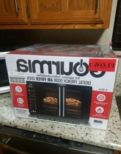 digital french door air fryer toaster oven