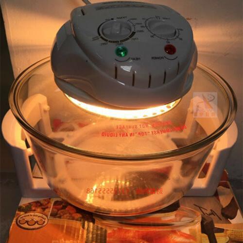 Digital Infrared Halogen Convection Oven 17QT Roaster