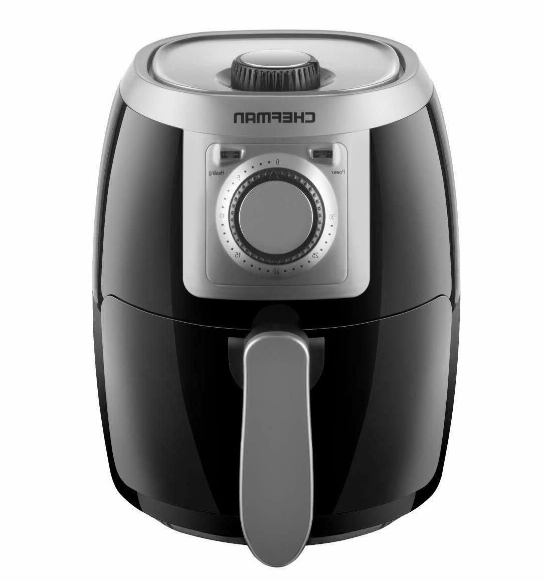 Chefman TurboFry 2 Liter Air Fryer, Personal Compact Healthy