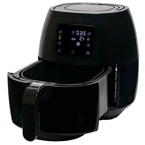 Electric Fryer Digital Programs Detachable 1400W Recipes