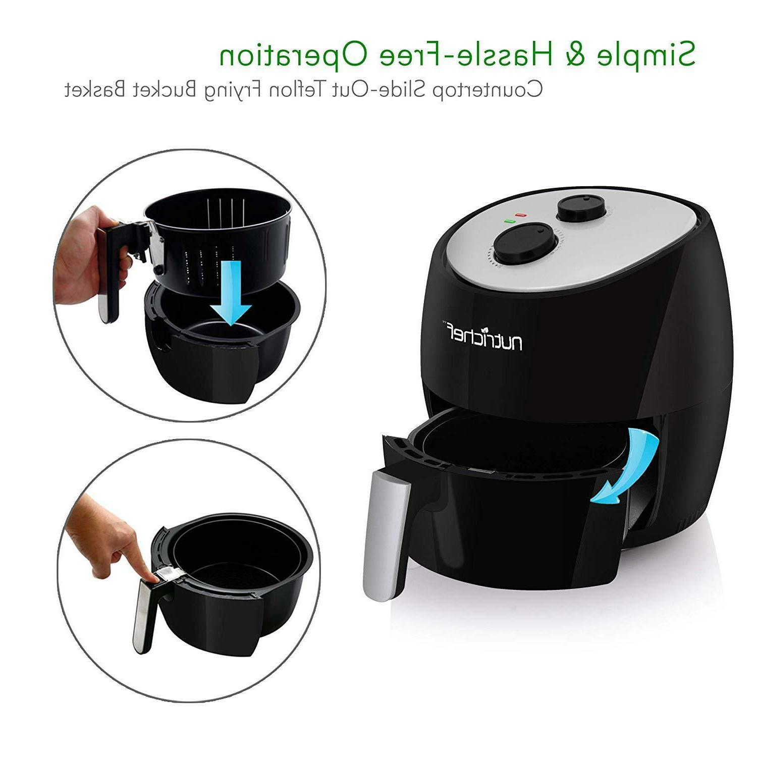 Nutrichef Air Multi Cooker 1300W Toaster