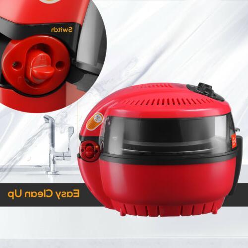 7.4QT No Oil Air Fryer Temperature