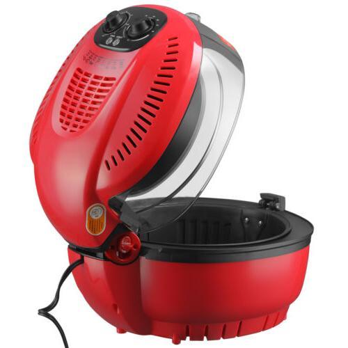 7.4QT No Air Fryer Temperature Timer Control