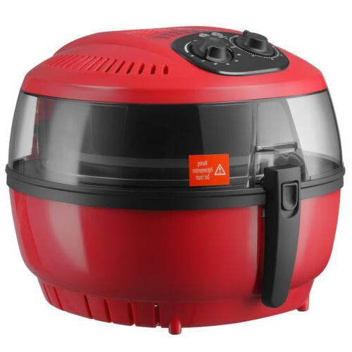 7.4QT Electric Air Fryer Temperature