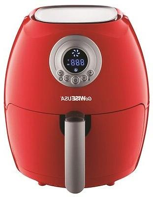 GoWISE USA Electric Air Fryer Guard QT, 1350W (2.7 Re