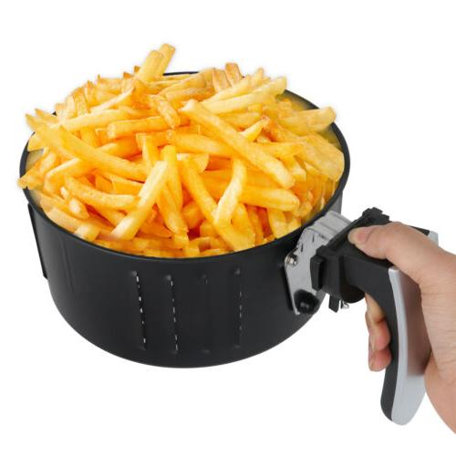 1500w Electric System 3.7 qt No-Oil Air Fryer