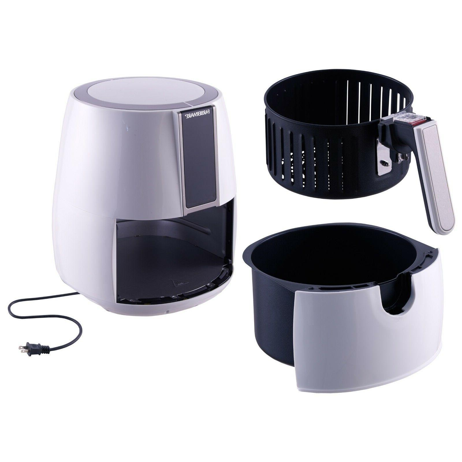 Electric Fryer 3.2Quart White