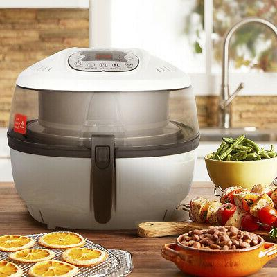 electric digital turbo air fryer oil less