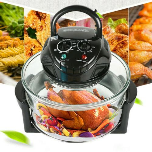 Electric Oven Quart Glass Broil Steam + 11