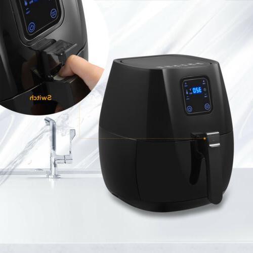 1300W 4.4QT Less Fryer and Temperature Control