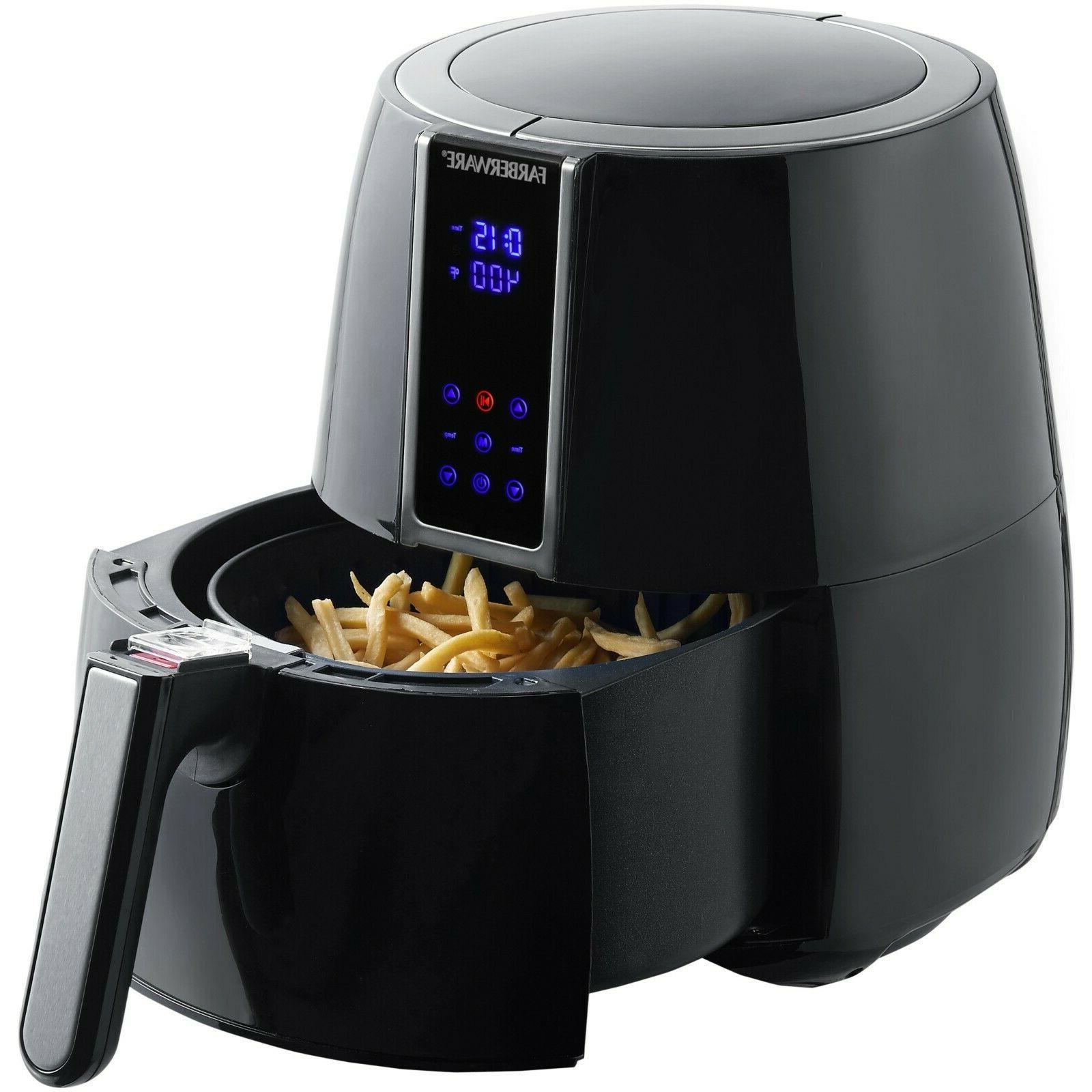 digital air fryer 3 2 quart oil