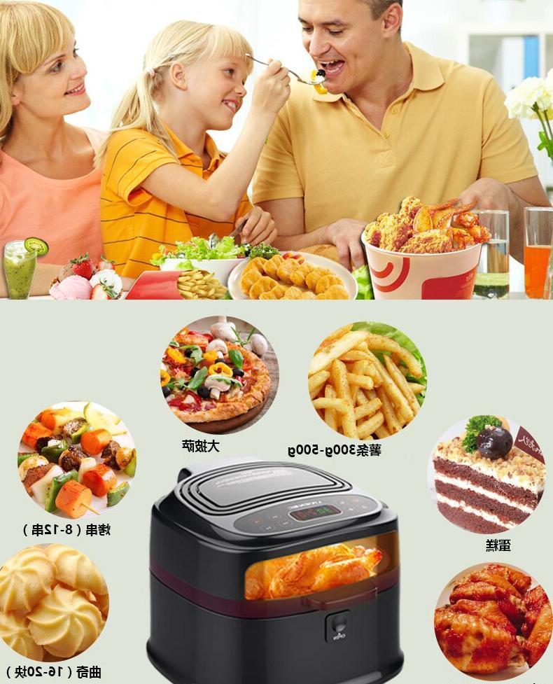 Electric Smart Oil Freidora Freidoras Deep Chips Fried Chicken Frying Pot Kitchen