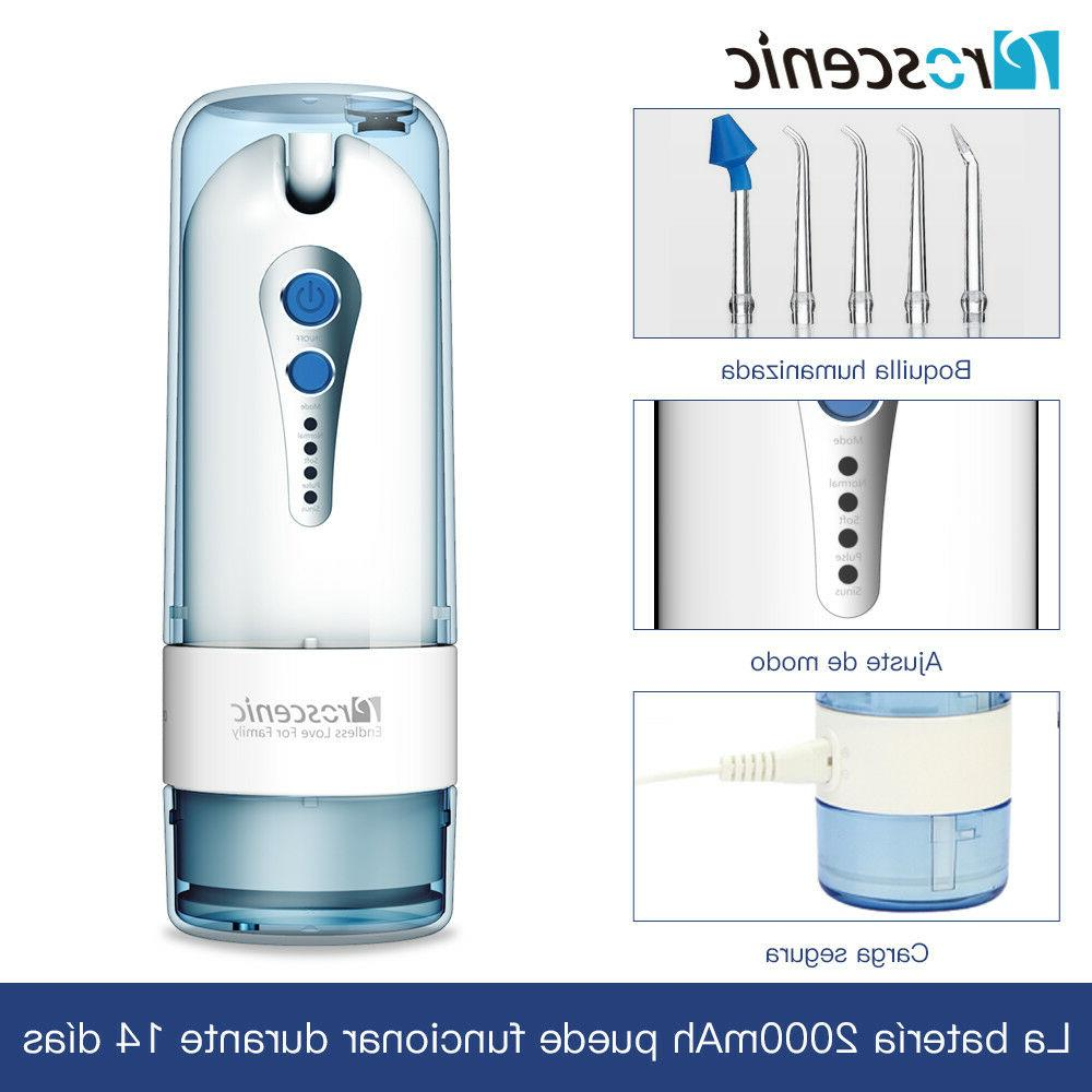 Electric Water Flosser Oral Irrigator Dental Pick