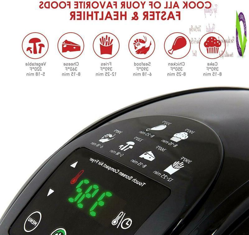 Elite Platinum Eaf-2500D Dual Layer 3.5 Qt. Digital