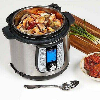 Emeril Lagasse Pressure Air Steamer & All-in-One Multi-Cooker....