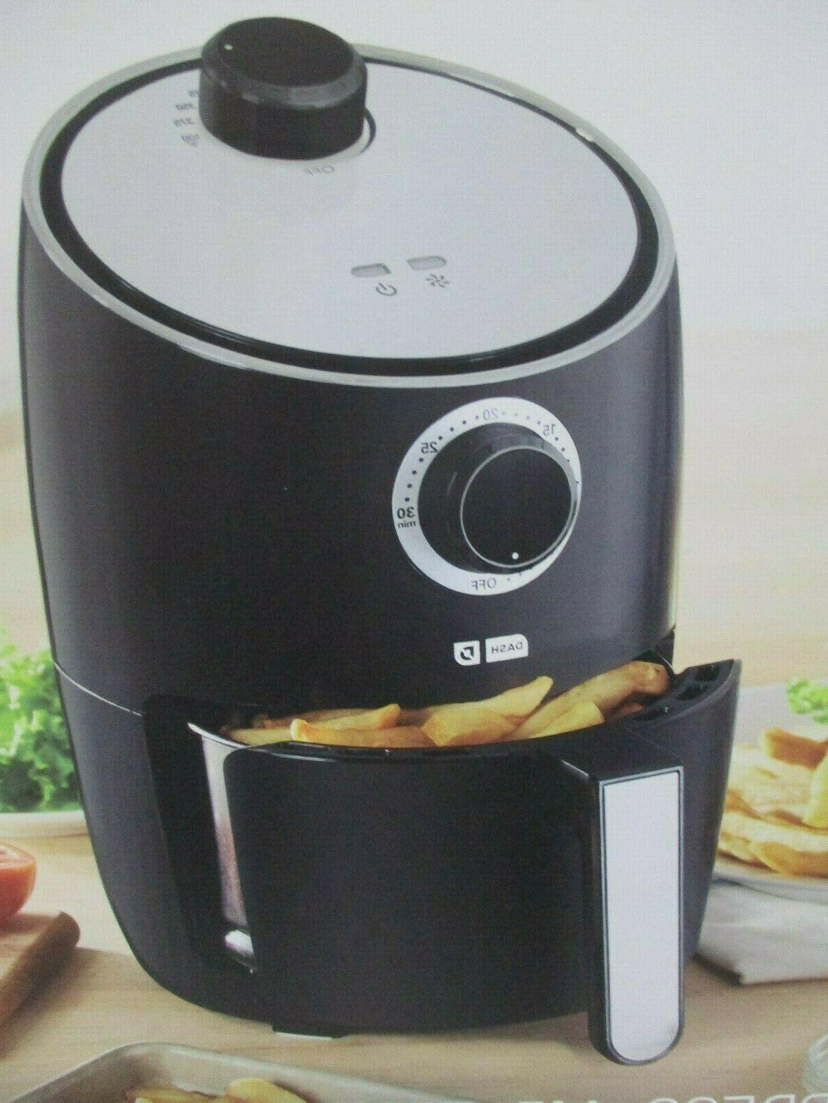 Dash Express Air Fryer 2 Quart 1200 Watts Black New In Box