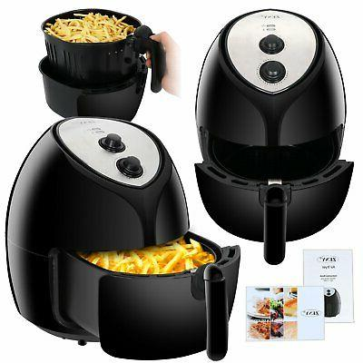 Zeny Extra Large Capacity 5 8 Quarts Electric Air Fryer