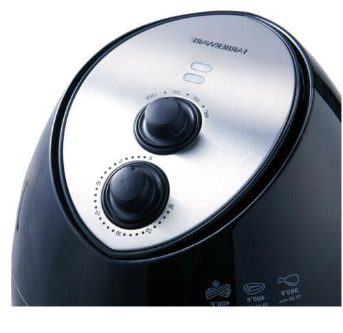 Faberware Quart Multi-Functional Fryer Black