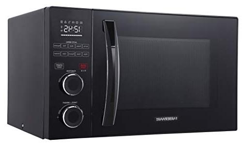Farberware Gourmet FMO10AHSBKA 1.0 Cu. Microwave Oven with Healthy Fry Grill/Convection Function, LED Black