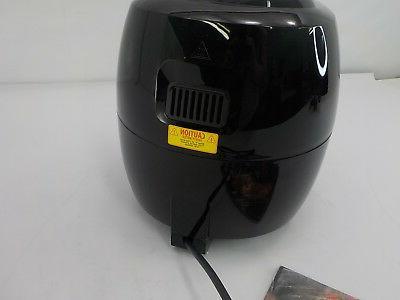 GoWISE 5.8-Quart Electric Air Fryer Black
