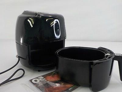 GoWISE USA GW22731 5.8-Quart 8-in-1 Fryer XL, Black