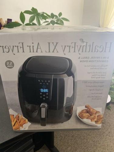 Chef di Healthy Fry XL Fryer 5.5 Box