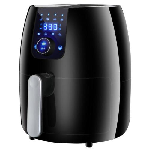 Multi Black Version Deep Air Fryer Mechanical / Digital Mode