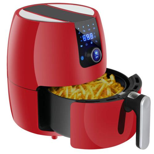 Air Fryer - Temperature Control, Healthy Oil-less, Screen To