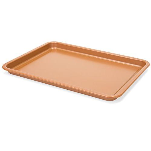 Best Choice Products Kitchen Oven Crisper & Pan - Copper