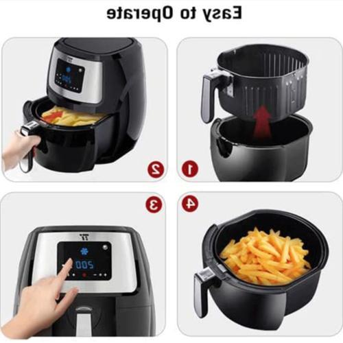 Lager 7.4-Quart 1700 Watt High Speed Healthy Multipurpose Cooker